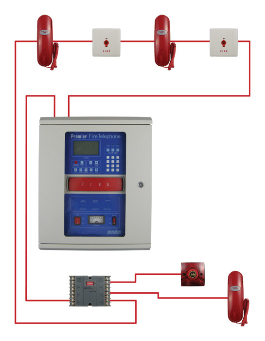 fire telephone typical wiring diagram home commercial audio fire alarm addressable system wiring diagram pdf at mifinder.co